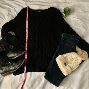 Express chunky sweater